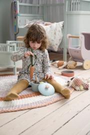 Sebra Kili Baby en Junior Bed - Misty Green