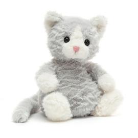 Jellycat Mitten Kitten Knuffel Poes - Kitten Shimmer (19 cm)