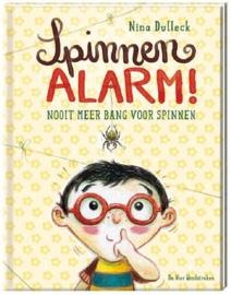 Uitgeverij Vier Windstreken Spinnenalarm +4jr