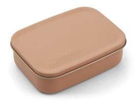 Liewood Lunchtrommel RVS Jimmy Lunchbox - Cat Tuscany Rose (Extra groot)