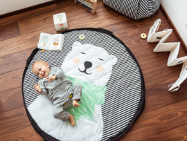 Play and Go Soft Speelgoedkleed en Opbergzak - Polar Bear