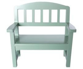 Maileg Houten Bank Wooden Bench - Green