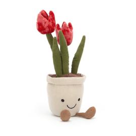 Jellycat Amuseable Tulip - Knuffel Tulp