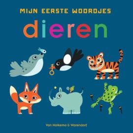 Uitgeverij Unieboek Mijn Eerste Woordjes - Dieren +1jr