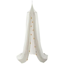 Roommate Canopy Bed Hemel - Grey/White