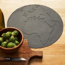 KG Design Placemat Atlas Wereldbol - Roze