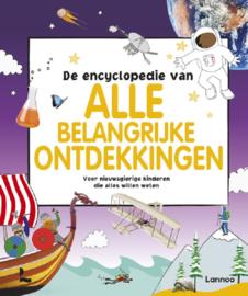 Uitgeverij Lannoo De Encyclopedie van alle belangrijke Ontdekkingen +6jr