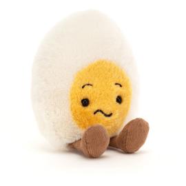 Jellycat Amuseable Boiled Egg Confused - Knuffel Gekookt Eitje Verbaasd (14 cm)