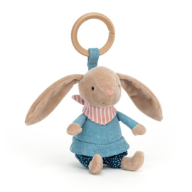 Jellycat Little Rambler Bunny - Riverside Activity Toy Konijn