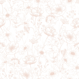 Sample - Lilipinso Botany Behang - Bloemen Roze (H0451)
