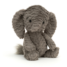 Jellycat Squishu Elephant - Knuffel Olifant