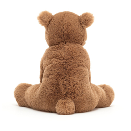 Jellycat Woody Bear Medium - Knuffel Beer (27 cm)