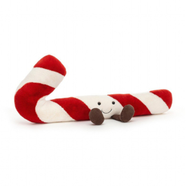 Jellycat Kerst Collectie Amuseable Candy Cane little - Zuurstok klein