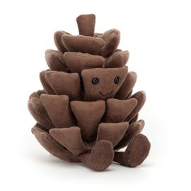 Jellycat Amuseable Knuffel Dennenappel - Pine Cone (13 cm)