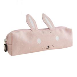 Trixie Pennenetui Lang Mrs Rabbit - Roze