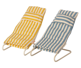 Maileg Beach Mice Strandstoelen Set van 2