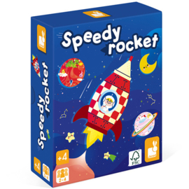 Janod Spel - Speedy Rocket +4jr