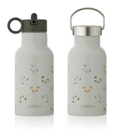 Liewood Anker Waterbottle Drinkfles - Panda Dove Blue Multi Mix (350ml)