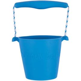 Scrunch Bucket Emmer - Licht Blauw (mat)