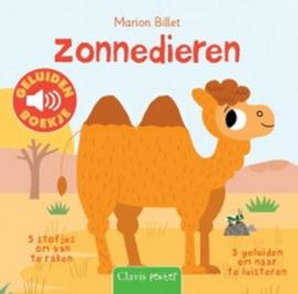 Uitgeverij Clavis Geluidenboekje - Zonnedieren +1jr