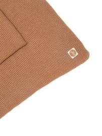 Jollein Boxkleed Basic Knit - Caramel (80 x 100 cm)