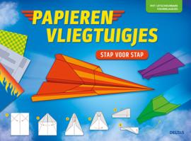 Uitgeverij Deltas Papieren Vliegtuigjes Stap voor Stap
