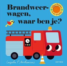 Uitgeverij Gottmer Brandweerwagen, waar ben je? + 2jr