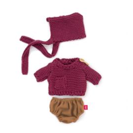Miniland Poppen Kleding Set Dune - Boy (21 cm)