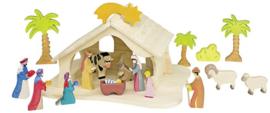 Holztiger - Jezus in Kribbe 3 (80310)