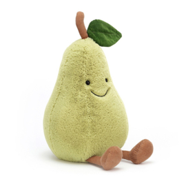 Jellycat Amuseable Pear Large - Knuffel Peer (28 cm)