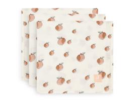Jollein Hydrofiele Doeken Small - Peach (set van 3)