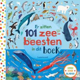 Uitgeverij Lemniscaat Er zitten 101 Zeebeesten in dit boek +3jr
