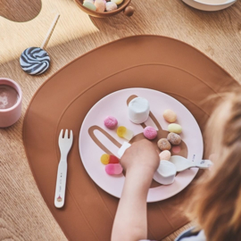 OYOY Placemat Rainbow - Clay