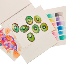 Ooly Schetsboek Aquarel Papier - Chroma Blends