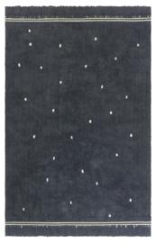 Tapis Petit Vloerkleed Emily Dot Antracite - Antraciet