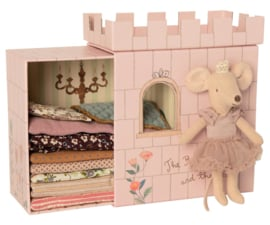 Maileg Princess and the Pea Mouse Big Sister - Prinses op de Erwt Muis