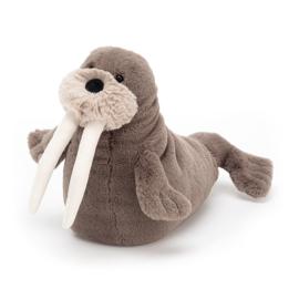Jellycat Knuffel Walrus Small - Willie Walrus (23 cm)