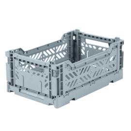 AyKasa Folding Crate Mini Box - Pale Blue