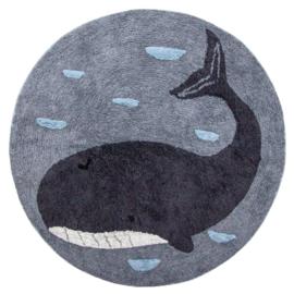 Sebra Vloerkleed Rond Walvis - Marion the Whale