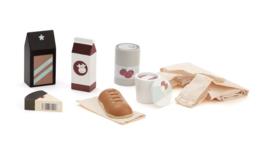 Kids Concept Houten Boodschappen - Incl. Tas