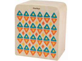 Plantoys Houten Trommel Ritme Box - Rechthoek