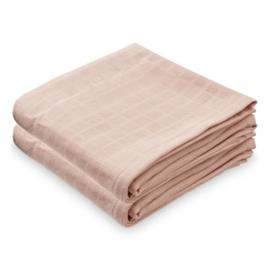 CamCam Hydrofiele Doek Muslin - Blossom Pink (set van 2)