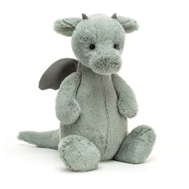Jellycat Bashful Dragon Huge - Knuffel Draak (51 cm)