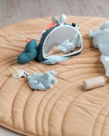 Done by Deer Babyspiegel (vloer) Walvis Wally - Blauw