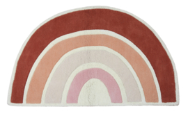 Lilipinso Paradisio Vloerkleed Regenboog - Rainbow Pink and Orange