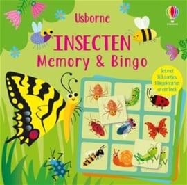 Uitgeverij Usborne - Memory en Bingo Insecten +3jr