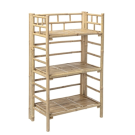 Bloomingville Boekenkast Bookcase Bamboo - Nature