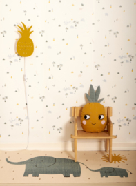 Roommate Vloerkleed Pineapple - Ananas