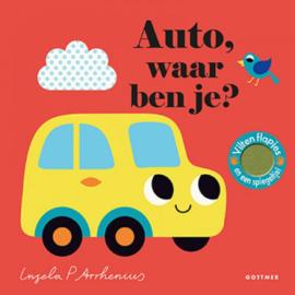 Uitgeverij Gottmer Auto, waar ben je - Ingela Arrhenius +2jr