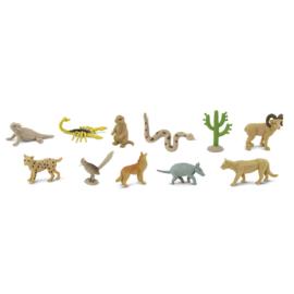 Safari Speelfiguren Toob Set - Woestijndieren